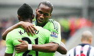 Will Didier Drogba be saying goodbye to Chelsea?