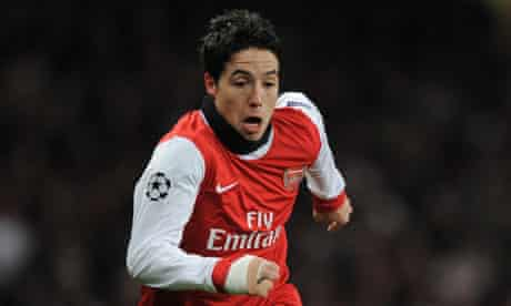 Arsenal' Samir Nasri has admitted he could be open to a move to Manchester United