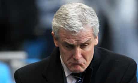 Mark Hughes has left Fulham, but his next destination remains uncertain