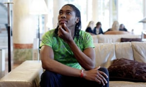 South Africa's 800m runner Caster Semenya admits she does not enjoy being famous