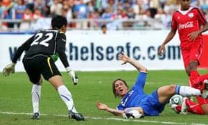 Fernando Torres again struggled to make an impact.