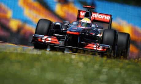 Lewis Hamilton in his McLaren at the 2011 Turkish Grand Prix