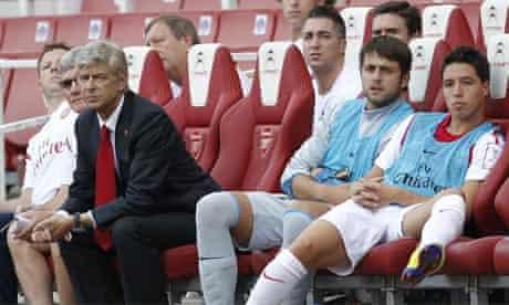 Arsène Wenger Samir Nasri