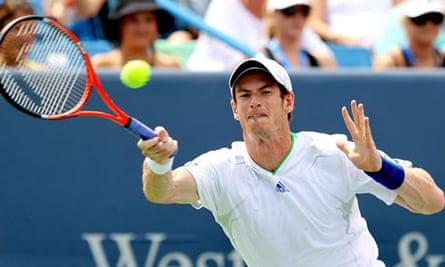 Andy Murray in the Cincinnati Open final