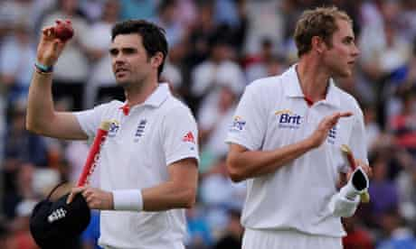 Jimmy Anderson provides the artistry for England