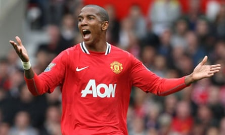 Ashley Young has the air of a hunter
