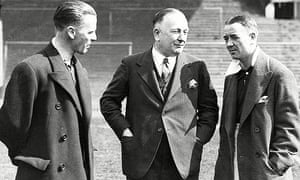 Herbert Chapman Manager Of Arsenal F.c.