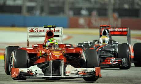 Lewis Hamiton and Felipe Massa