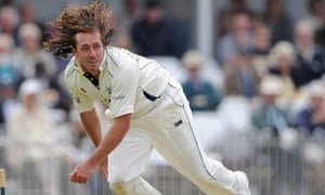 Yorkshire's Ryan Sidebottom in action
