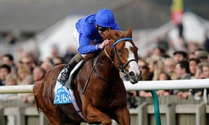 Dawn Approach wins the Dewhurst Stakes at Newmarket