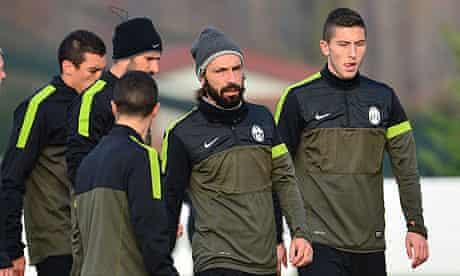 Juventus midfielder Andrea Pirlo