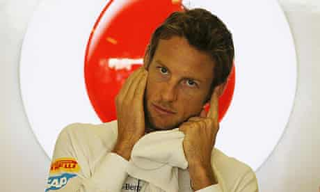 McLaren's Jenson Button before the F1 Abu Dhabi Grand Prix