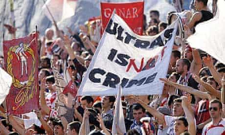 Rayo Vallecano fans