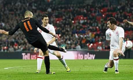 Holland's Arjen Robben