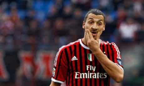 Milan's Zlatan Ibrahimovic