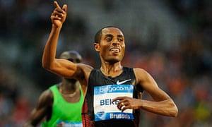Ethiopia's Kenenisa Bekele