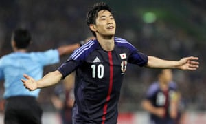 Japan's Shinji Kagawa is a target for Manchester United
