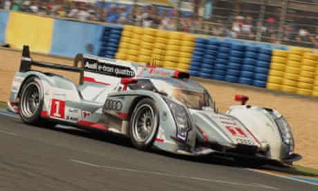 Audi LMP1 at Le Mans 2012