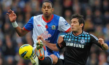 Steven Nzonzi, left, could be on his way out of Blackburn