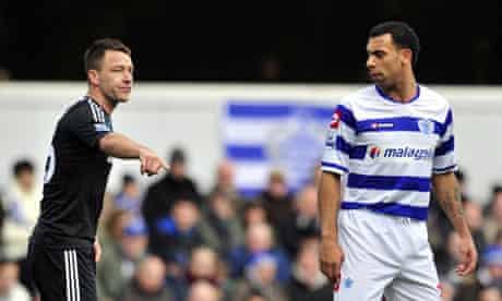 Queens Park Rangers' English defender An