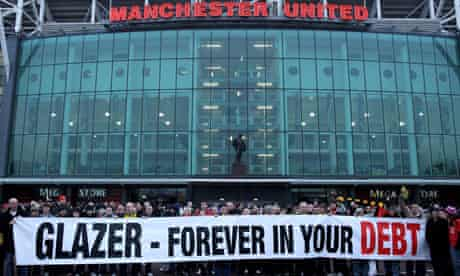 Manchester United fans have often vented their frustration at the Glazers