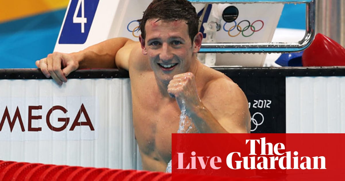 679a832154113 London 2012 Olympics: swimming finals – as they happened | Sport | The  Guardian