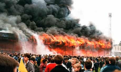 Football Stadium Fire