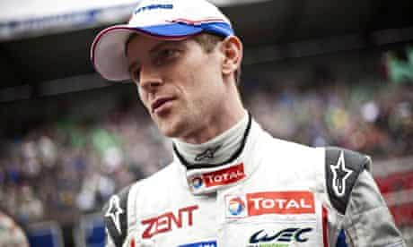 Anthony Davidson survived an accident at the Le Mans 24 Hours in 2012