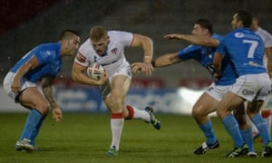 England lost 15-14 to Italy in their Rugby League World Cup warm-up match in Salford on Saturday