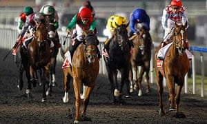 Animal Kingdom is well clear of his rivals in the Dubai World Cup