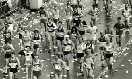 London marathon 1985