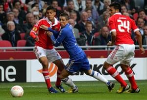 Benfica v Chelsea 4: Soccer - UEFA Europa League Final - Benfica v Chelsea - Amsterdam Arena