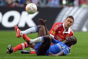 Benfica v Chelsea 4: Benfica's Serbian midfielder Nemanja Mat
