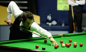 Ronnie O 39 Sullivan Is Warned Over 39 Obscene 39 Gesture Sport