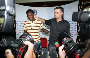 Mourinho strengthened his squad with the likes of Michael Essien