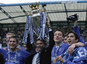 Chelsea win the title