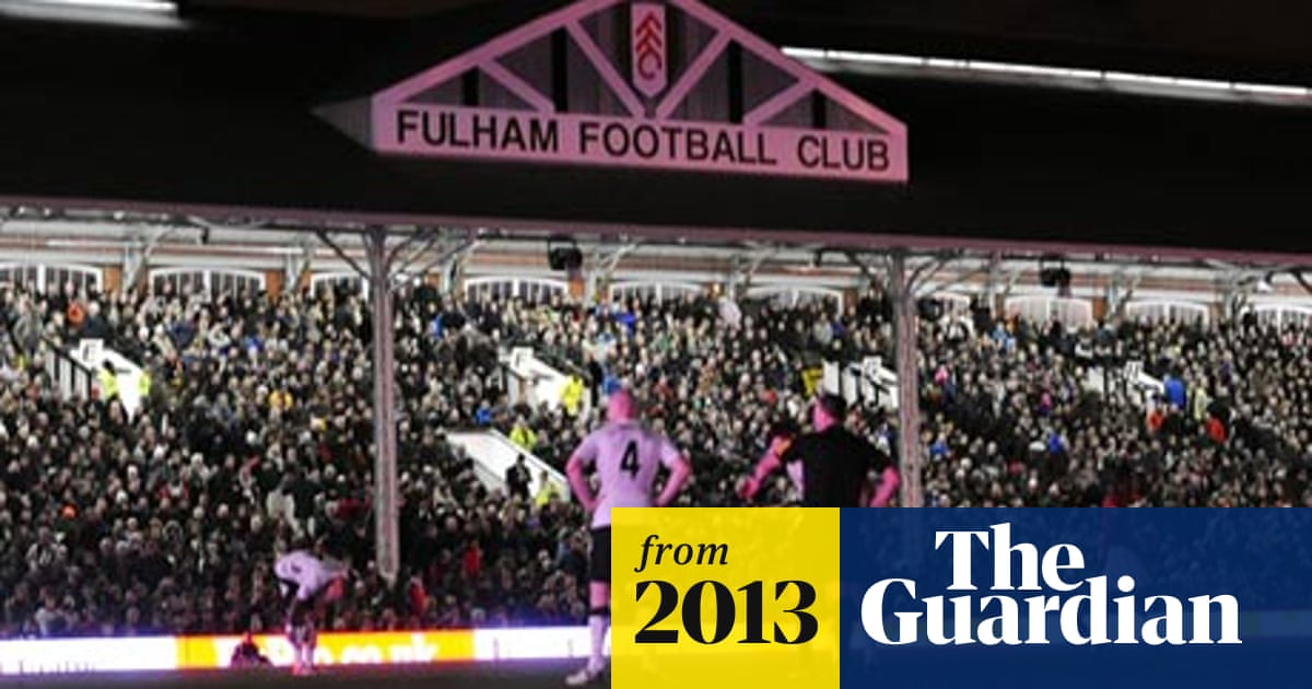 Fulham Agree Sale To The Jacksonville Jaguars Owner Shahid Khan Fulham The Guardian