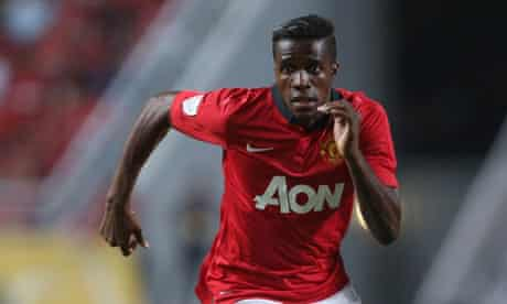 Wilfried Zaha, the Machester United winger, put on a creditable display against Singha All Stars