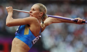 Russian heptathlete Tatyana Chernova