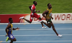 Usain Bolt in Moscow