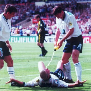 Gascoigne celebration