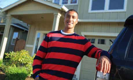 People recognise decathlete Ashton Eaton in the city where he lives, Eugene, Oregon