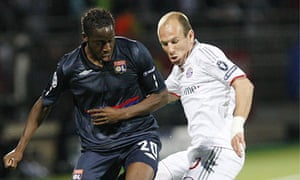 New Liverpool signing Aly Cissokho, left, played for Lyon from 2009 to 2012