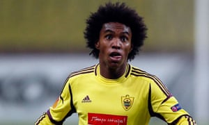 Willian is on his way to Chelsea despite Tottenham believing the forward was about to sign for them