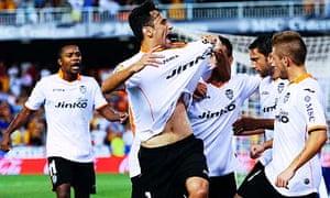 Valencia's Jonas Goncalves