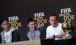 fb2b2bff259 Franck Ribéry says he should have won Ballon d Or ahead of Cristiano ...
