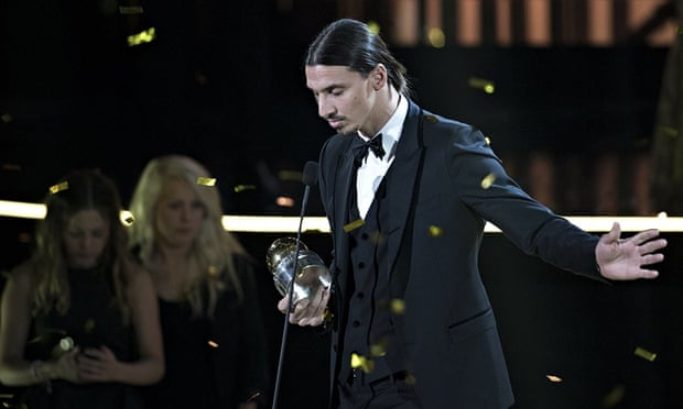 pretty nice e219b 5228e Zlatan Ibrahimovic recalls death of brother at awards ...