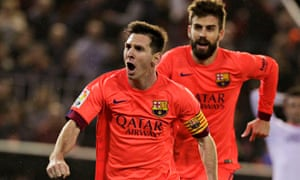 31a590b52c7 Photograph  Heino Kalis Reuters. Barcelona s appeal against Lionel Messi s  yellow card for time-wasting ...