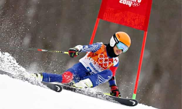 Vanessa Mae makes her Winter Olympic debut