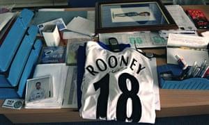 Wayne Rooney's shirt